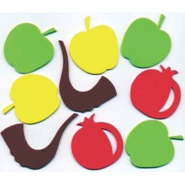 Rosh Hashana Foam Shapes