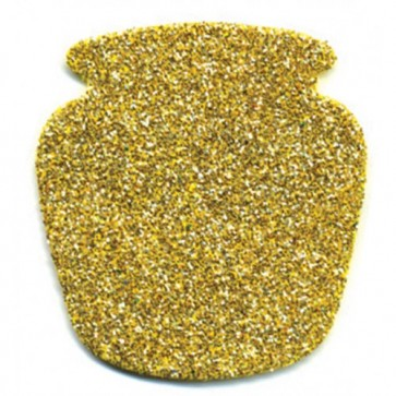 Glitter Foam Shape for Wall - Honey