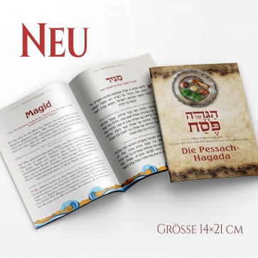Haggadah for Pessach in German