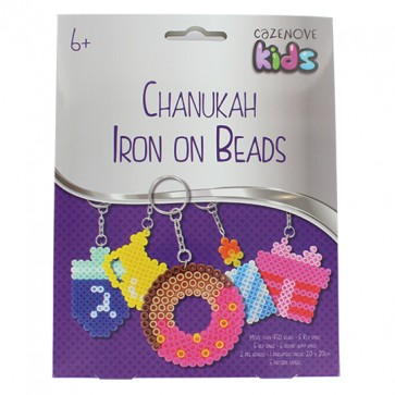 Chanukah Iron On Beads