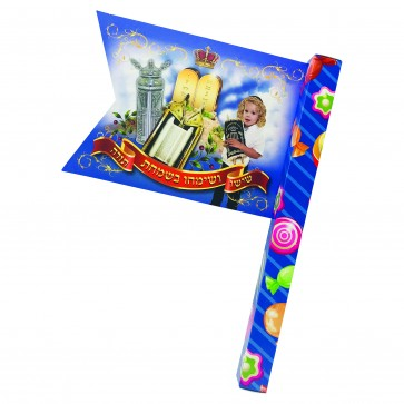A Small Flag Filled With Candies
