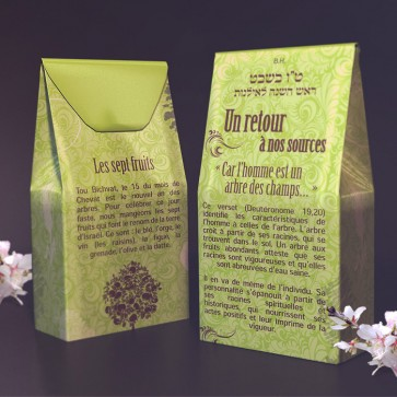 Tu Bishvat Box in French
