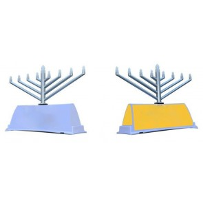 NEW !! Beautiful CAR LED Electronic Menorah