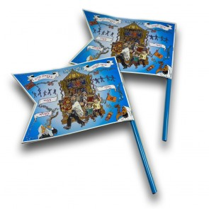 A Small Simcha Torah Flag