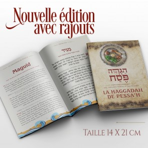 Renewed Haggadah in French with additions