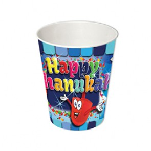 Chanukah Paper Cups