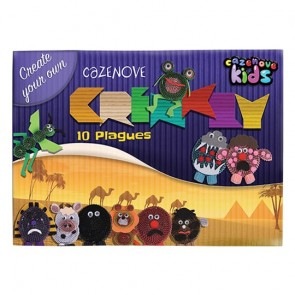 10 Plagues Corrugated Paper Kit